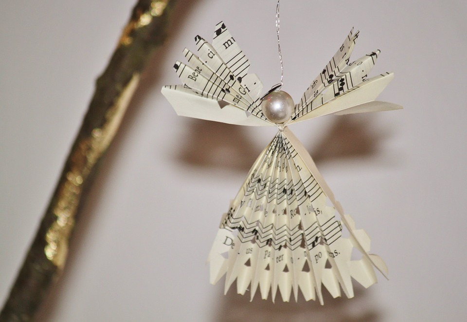 diy angel ornament