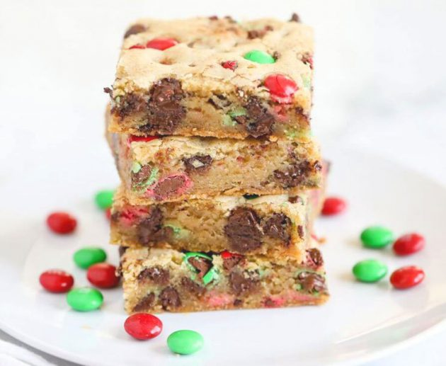 christmas cookie bar